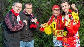 Les supporters du HCV Martigny et du HC Sierre se nourrissent des derbys valaisans
