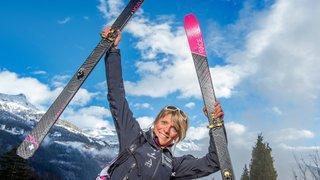 Ski alpinisme: Séverine Pont Combe insatiable aux Aiguilles Rouges