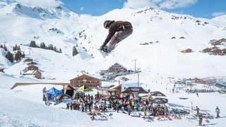 Les Crosets: le 8e Banked Slalom à la sauce mexicaine