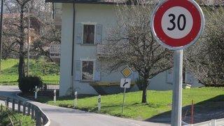 Le Valais étudie le passage à 30 km/h au centre de plusieurs localités