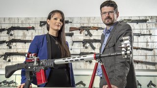 Valais: Les opposants à la nouvelle loi sur les armes présentent leurs arguments