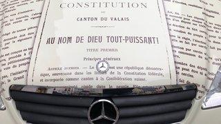 Valais: la constitution cantonale sur le capot