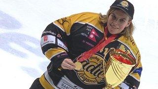 Hockey: Jade Dubi, championne de Suisse avec Lugano