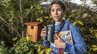Bagnes: à 12 ans, il s'engage pour sauver les oiseaux