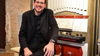 Thomas Kientz, futur organiste de l'abbaye de Saint-Maurice: «C'est très rare d'avoir un poste aussi complet»
