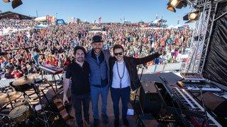 L'énergie de Charlie Winston pour clore en beauté le festival Rock The Pistes