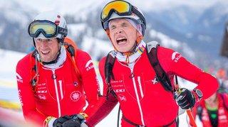 Les Suisses tout devant et les Valaisans placés dans le team race des Mondiaux de ski-alpinisme