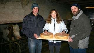 L'alpage Jeur-Loz produit un fromage à raclette au goût typique des herbages d'altitude