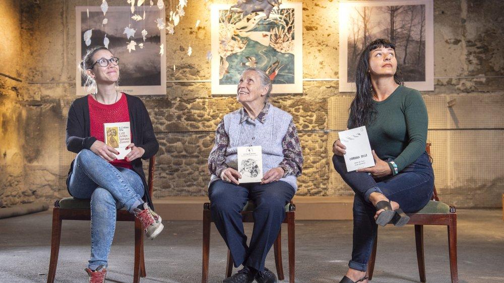Stéphanie Lathion, Renée Chappaz Peiry et Cécile Giovannini, trois regards aspirés vers le haut, vers la clarté poétique de Corinna Bille.