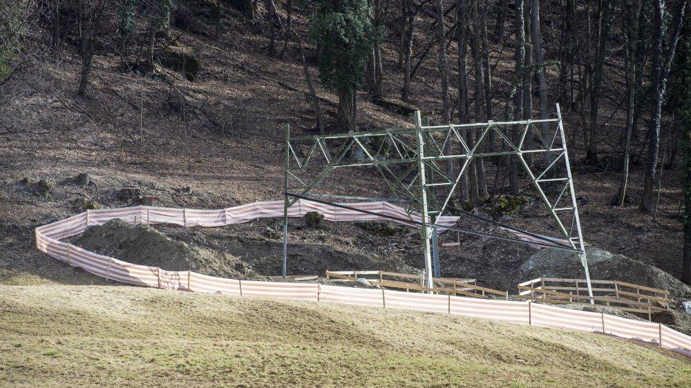 Les travaux ont débuté en août 2018.