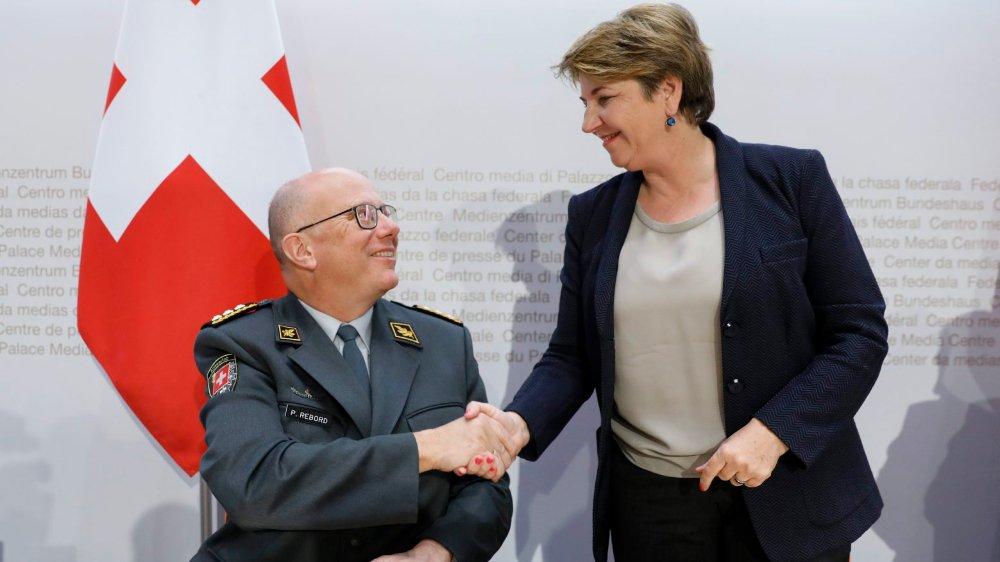 Avec le départ de Philippe Rebord, la ministre de la Défense, Viola Amherd, va devoir trouver un nouveau chef pour «son» armée.