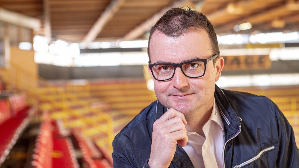 Alain Bonnet, président du HC Sierre, estime que cette promotion légitime le besoin pour le club de disposer d'une nouvelle patinoire.