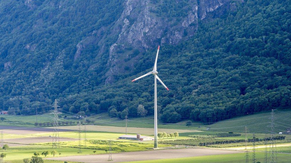 En 2018, l'éolienne Cime de l'Est, à Collonges, a enregistré le troisième meilleur résultat, en termes de production, depuis sa mise en fonction en 2005.