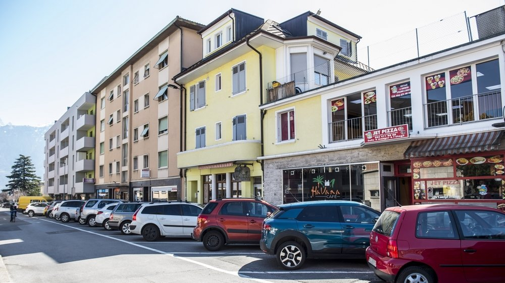L'agression, très violente, s'est déroulée à l'avenue des Alpes à Monthey en avril 2017.