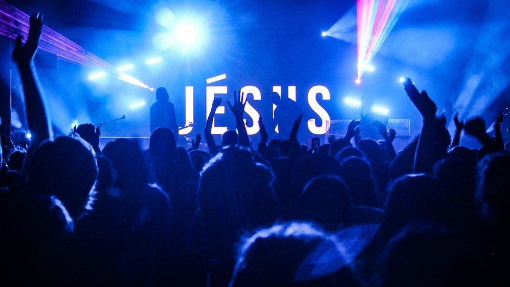 Le concert du groupe Glorious était l'un des moments forts du festival chrétien OpenSky.