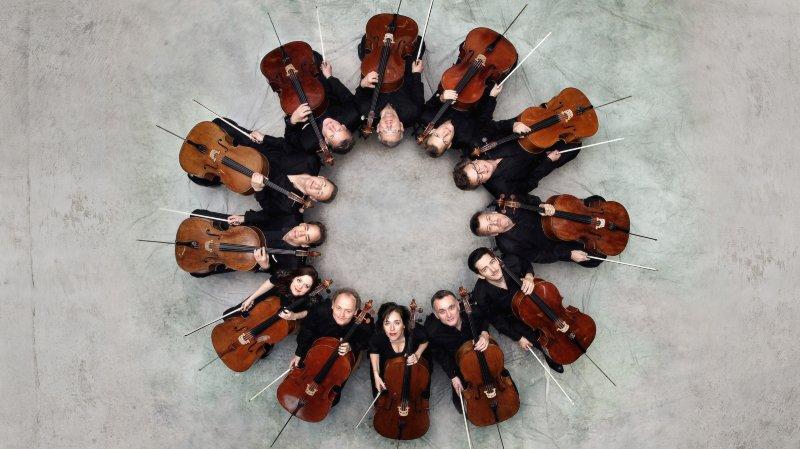 Evénement pour le moins exceptionnel, la venue des douze violoncellistes de l'Orchestre philharmonique de Berlin qui se produiront au Sion Festival.