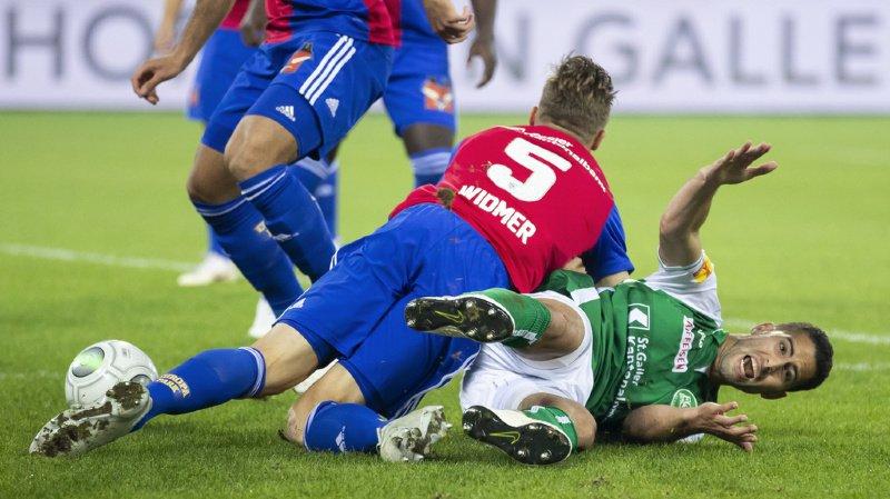 Football: le FC St-Gall obligé par la justice de laisser le Vaudois Ben Khalifa s'entraîner