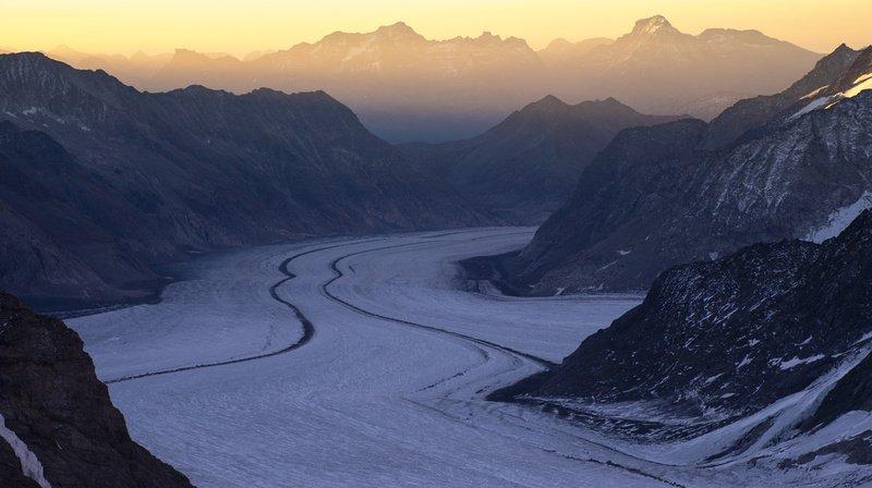 Des résidus radioactifs dans les glaciers, qui pourraient se retrouver dans les rivières