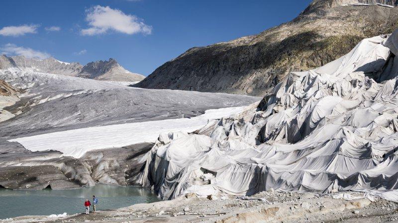 D'ici à la fin du siècle, les glaciers pourraient avoir complètement disparu dans les Alpes.