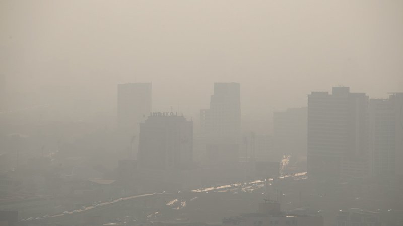 Santé: la pollution de l'air est le cinquième facteur de mortalité dans le monde