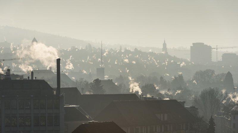 Pollution: la Suisse a émis 47,2 millions de tonnes de gaz à effet de serre en 2017