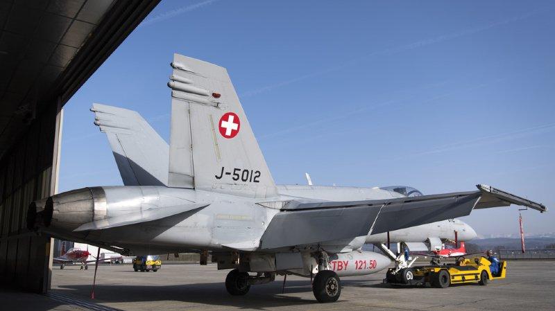 Sécurité aérienne: il n'y a plus que 10 F/A-18 prêts à voler sur les 30 de la flotte suisse