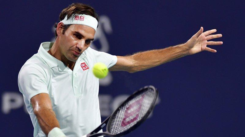 Federer a remporté les huit premiers jeux de la partie.