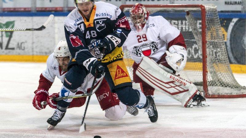 Zoug n'a fait qu'une bouchée du HC Lausanne ce soir (5-0).