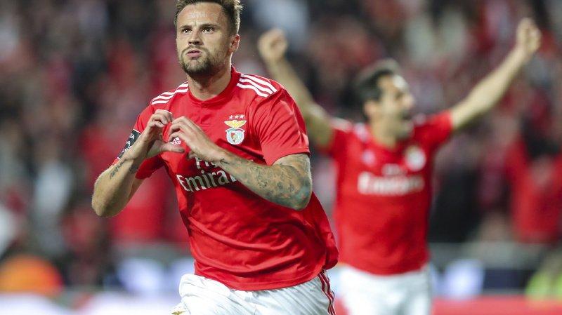 Introduit à la pause, Haris Seferovic a inscrit de la tête à la 84e minute la seule réussite de cette rencontre pour le plus grand bonheur du public du stade de la Luz.