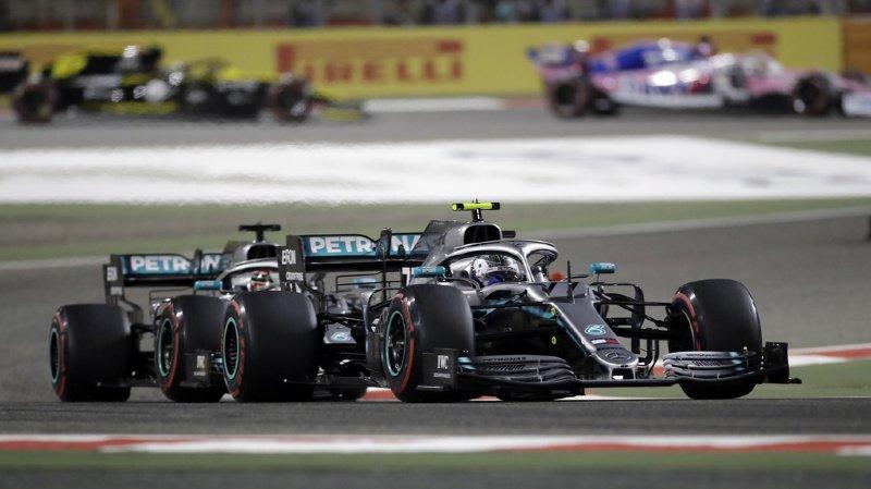 Formule 1: Hamilton remporte le Grand Prix de Bahreïn à Sakhir