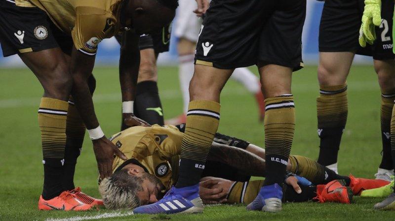 Football: grosse blessure à craindre pour Valon Behrami