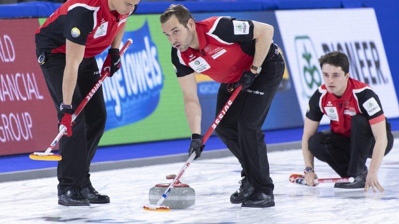 Championnat du monde de curling: la Suisse bien placée pour une médaille