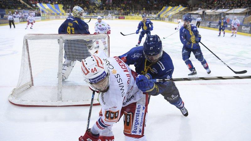 Hockey: Davos «sauve sa peau» grâce à sa victoire contre Rapperswil