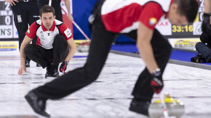 Championnat du monde de curling: les Suisses se hissent en demi-finales