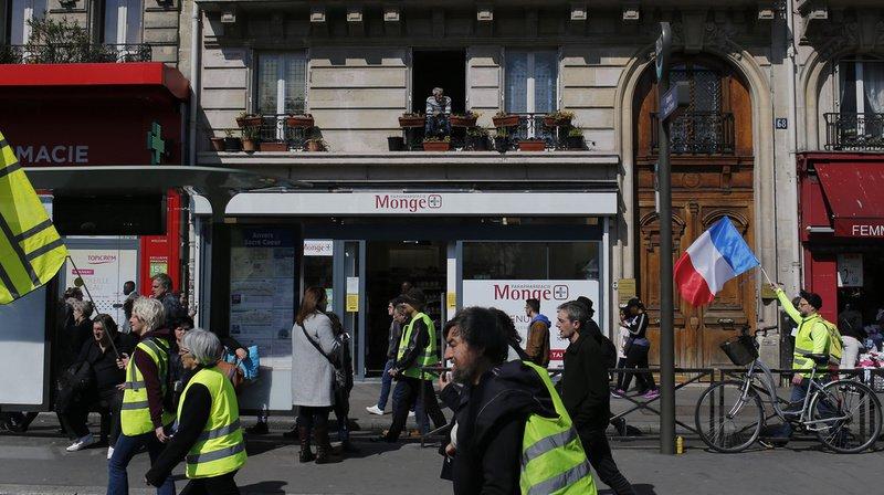 France: les «gilets jaunes» manifestent pour le 21e samedi de suite