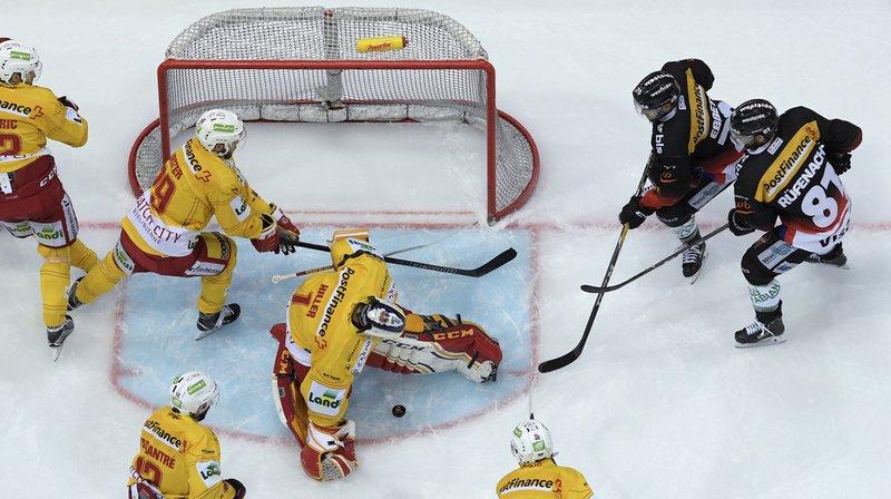 Hockey sur glace: Berne bat Bienne sans trembler et rejoint Zoug en finale