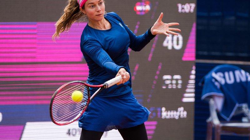 Tennis - tournoi WTA de Lugano: la dernière Suissesse, Stefanie Vögele, sortie en quarts