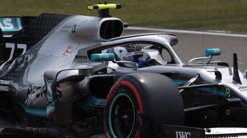 Valtteri Bottas a devancé Hamilton de 0''023 pour signer la septième pole de sa carrière.