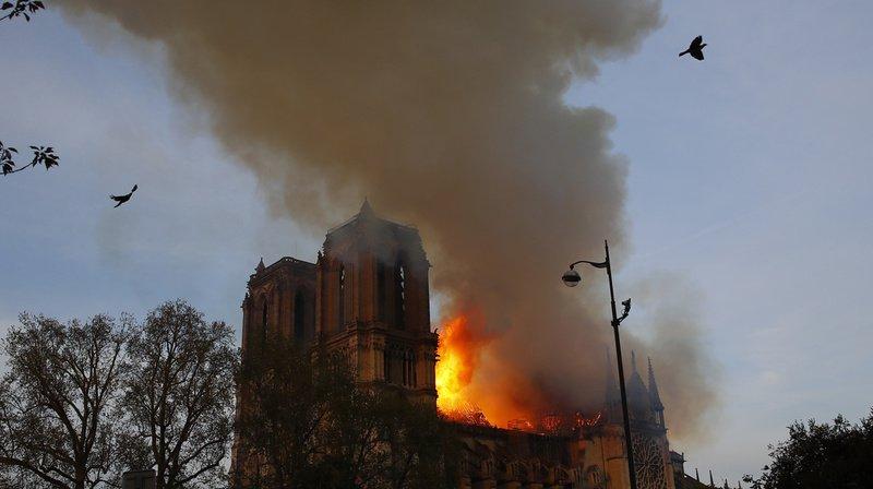 Le Nouvelliste du mardi 16 avril et l'incendie de Notre-Dame de Paris