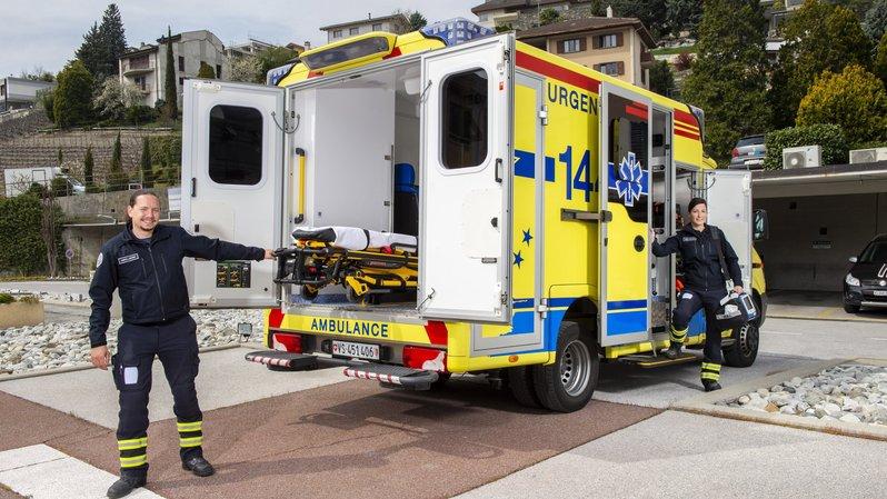 Valais: les ambulanciers nous racontent leur métier à l'occasion de la journée du 144