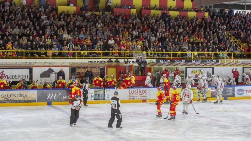 Sierre: pas de nouvelle patinoire avant 2024, malgré la récente promotion des rouge et jaune