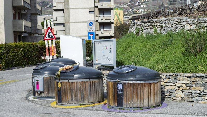 Sierre: dès la mi-avril, l'écopoint du Vallon sera équipé d'un système de collecte des biodéchets développé par l'UTO