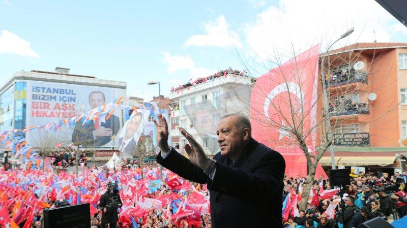 Municipales risquées  pour Erdogan