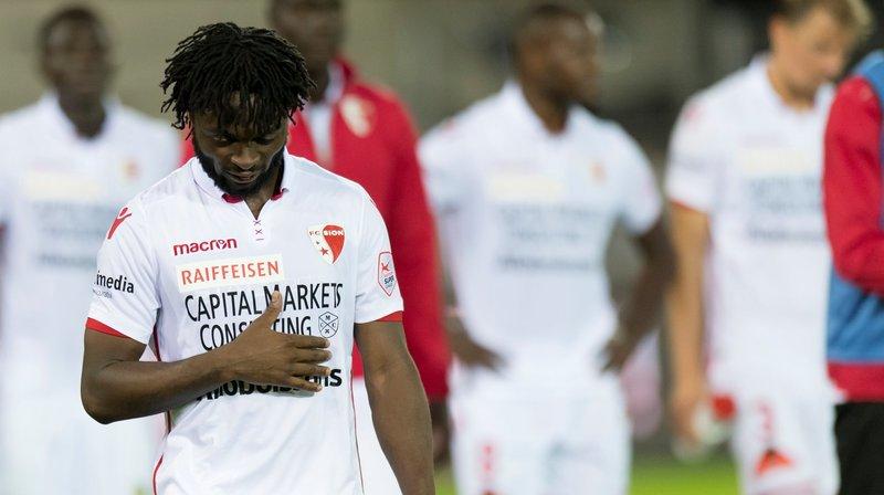 Suspendu, Xavier Kouassi ne pourra pas jouer dimanche avec le FC Sion contre Lugano.