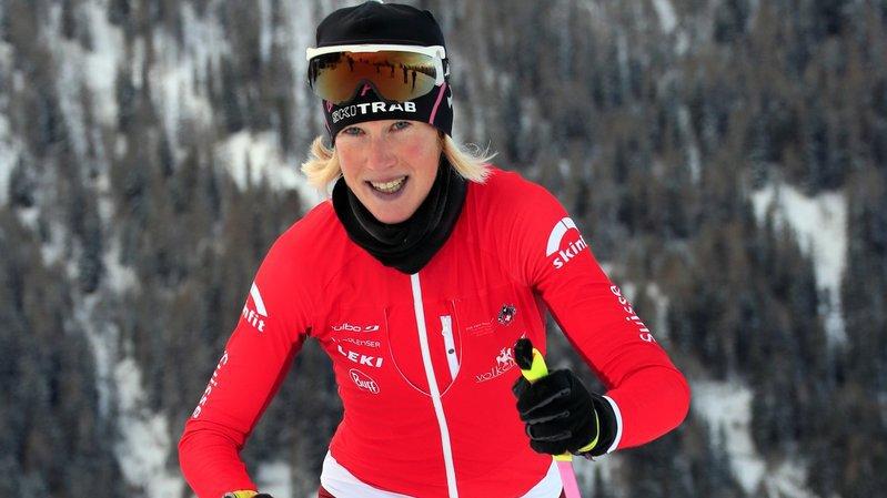Victoria Kreuzer a couronné sa saison par un globe de cristal.