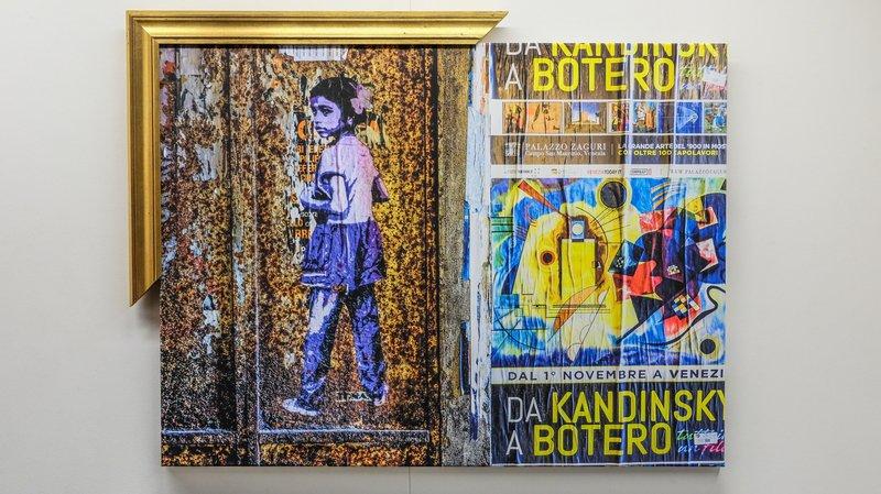 Ce Sédunois a apporté sa touche personnelle à ses photographies exposées à la galerie de la Treille.