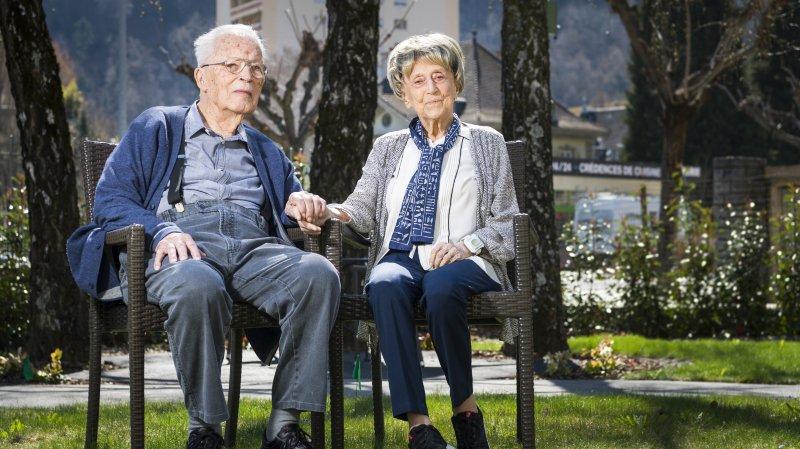 Tous deux centenaires, ces Valaisans sont mariés depuis plus de septante ans
