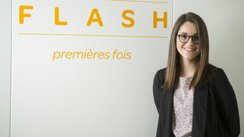 Coline Remy, archiviste de la Ville de Sion, a dévoilé la plateforme Flash en début d'année.
