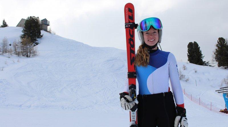 A 16 ans, Delphine Darbellay vient de réussir une première saison FIS au-delà de ses espérances.