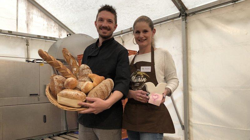 Saint-Léonard: chaque soir, la boulangerie Monnin met son pain invendu à disposition des petits budgets